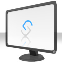 Widescreen Computer Monitor