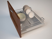 drying cupboard 3d model