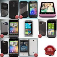 3d htc phones v3 model