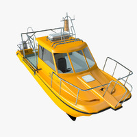 catamaran cruiser 3d 3ds