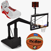Basketball Equipment Collection