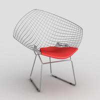 3d max diamond chair