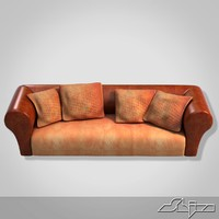big divan 3d model