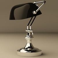 eichholtz lamp bankers 3ds