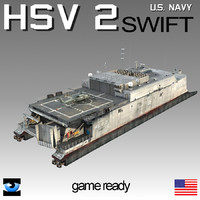 USS HSV-2 Swift USNS NAVY