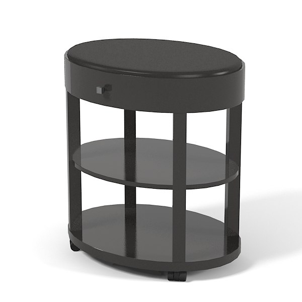 Selva Downtown  27607 round side coffee cocktail serving weel table modern contemporary0001.jpg