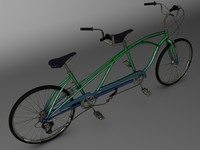 3ds max tandem bicycle