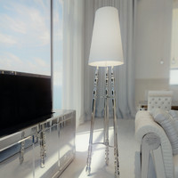 visionnaire dragonet floor lamp 3d model
