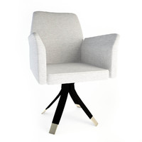 3d oak office chair sc