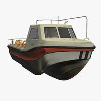 3d model leeward cruiser