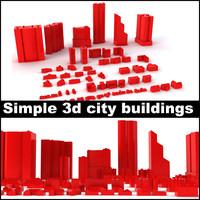 max simple city buildings