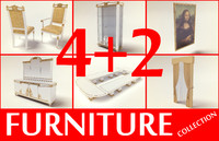 Golden furniture collection