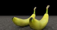 3d model banana tri