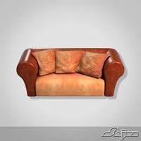 small divan 3d 3ds