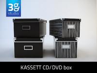 3dsmax kassett cd-dvd box