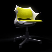 3d rocky chair steelcase