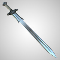Conan Atlantean King Sword