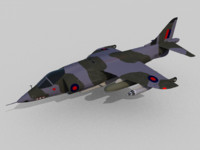hawker siddeley harrier gr 3ds free