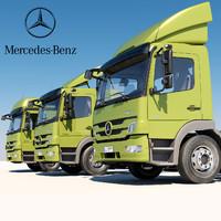 3d mercedes truck
