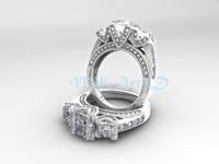 3d model ring jewelry jewel