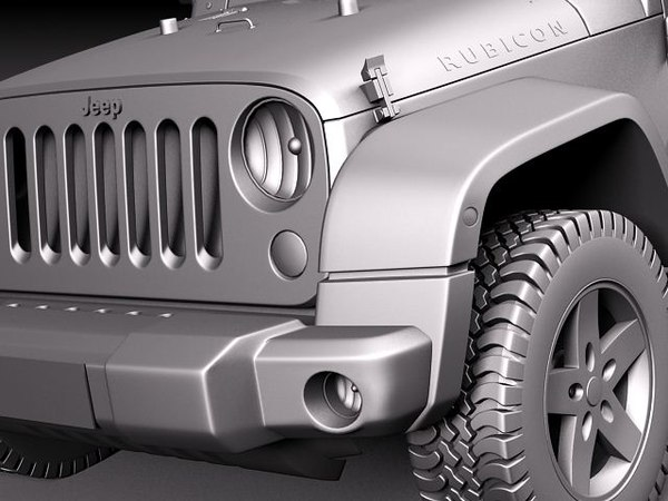 jeep wrangler rubicon suv 3ds - Jeep Wrangler Rubicon 2012... by squir