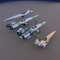 blender concept racers