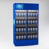 3d refrigerator fridge model