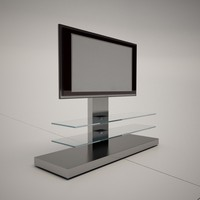 3d model cattelan italia panorama tv stand