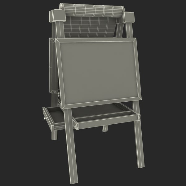 max artist easel studio - Artist Collection... by 3d_molier
