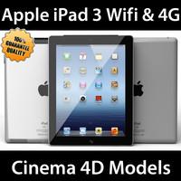 3d apple ipad 3 3g model