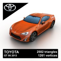 3ds max 2013 toyota gt 86