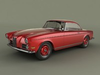 bmw 503 coupe 3d max