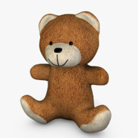 3d model cute teddy bear