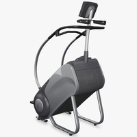 stairmaster stepmill exercise machine 3d model