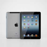 apple ipad 3 3d max