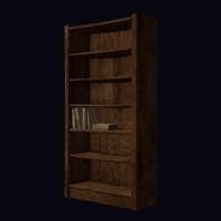 maya bookcase books