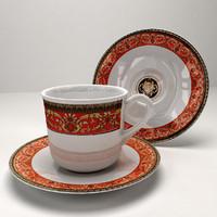 3d model cup saucer