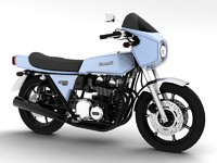 3d kawasaki z1-r 1977 model