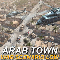 Arab Town War Scenario Low