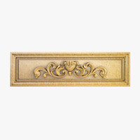 Decorative Carved Element 011