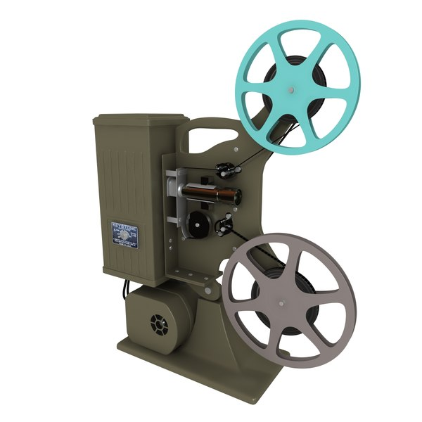 Old movie projector