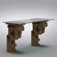 Restoration Hardware - Corbel Glass Desk