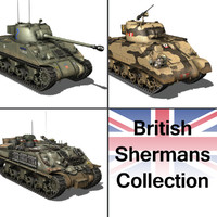 3d 3ds british sherman -