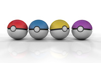 cinema4d pokeballs ball