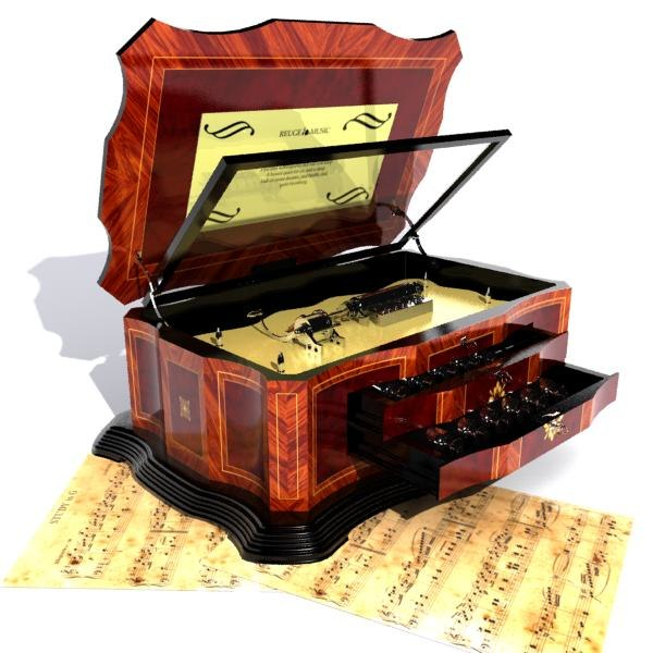 3d music box. Black Bedroom Furniture Sets. Home Design Ideas