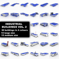 Industrial buildings Collection vol 2