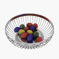 3d model egg basket