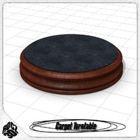 free living turntable 3d model