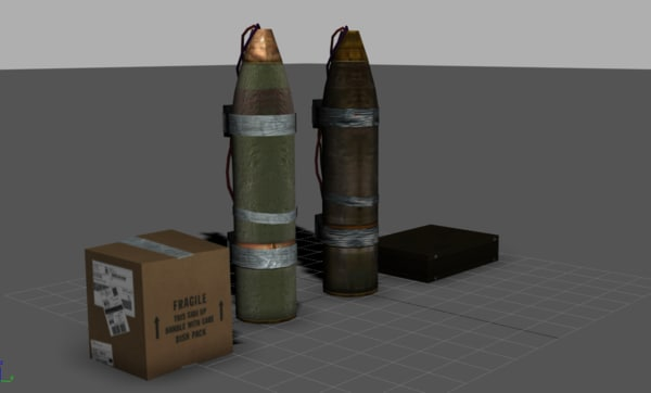 3d model improvised remote ied - IED Remote Bomb... by Slack_Jaw
