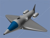 jet 3d model